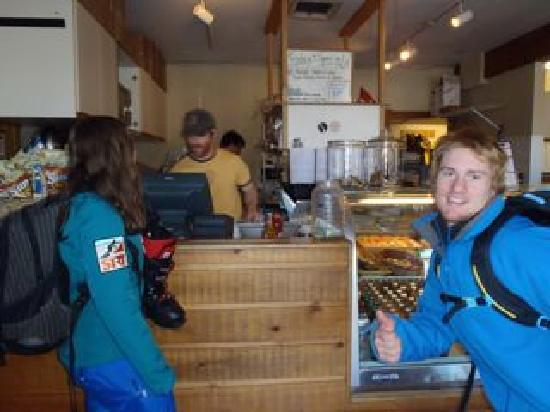 Backcountry Delicatessen: Enthusiastic patron