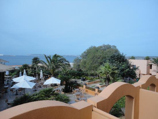 Ramla Bay Resort : veiw from hotel room sea veiw! : )