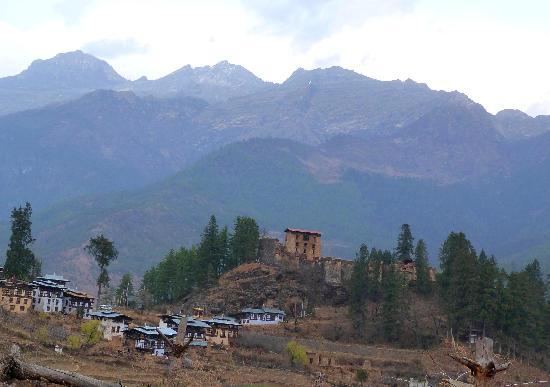Drukgyel Dzong: I resti dello dzong di Drukgyel