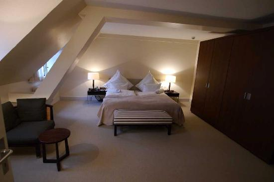 Alden Restaurant: This was our bedroom!