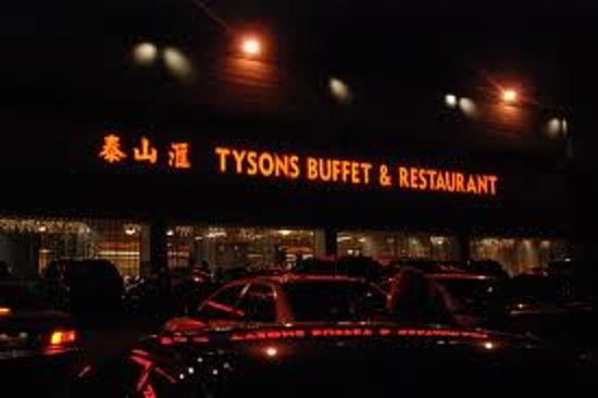 Tysons Buffet Restaurant At Night Picture Of Tysons Buffet