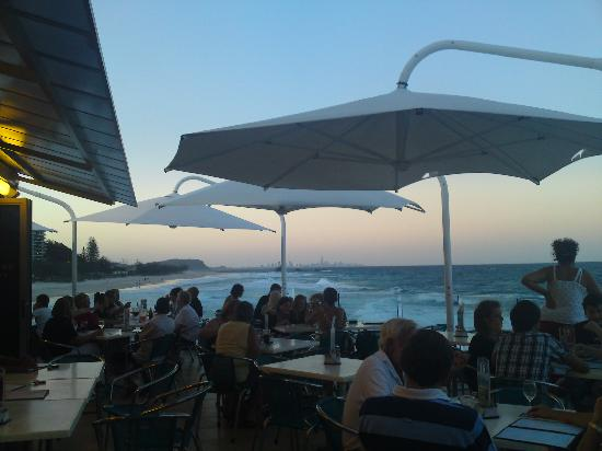 Bay of Palms Resort: Currumbin SLSC  fantastic view