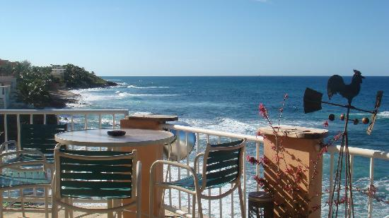Kikita Beach Guest House Bar y Grill: View from restaurant