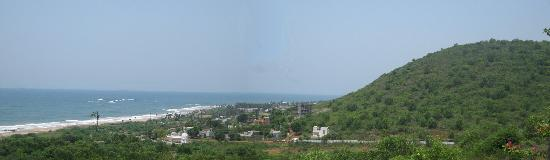 The Park Visakhapatnam: The view from the mountains a few minutes away from the Park