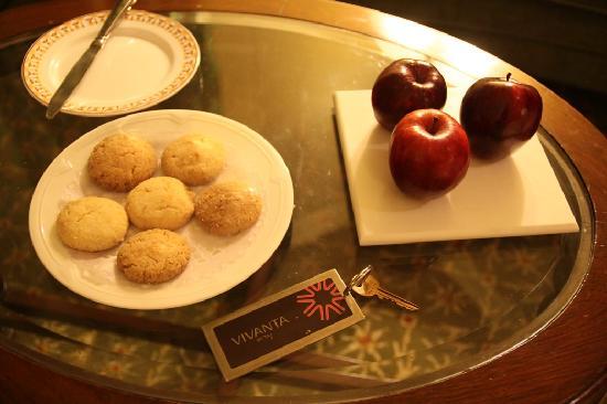 Vivanta by Taj - Hari Mahal, Jodhpur: don't worry, the cookies are wrapped up!