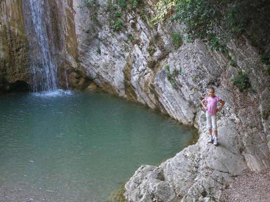 Residence Casa Silvana: am romantischen Wasserfall