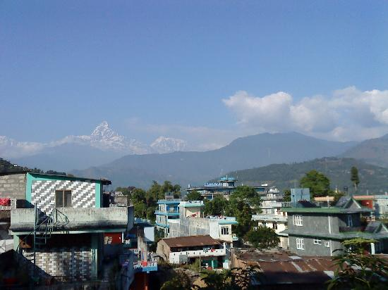 Bindhya Basini Temple: mountain  view  from  Bindhyabasini