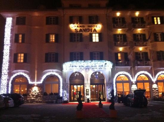 Grand Hotel Savoia before Xmas