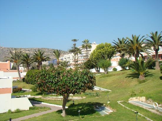 Hotel Club Al Moggar: jardin