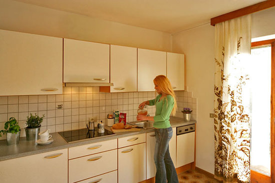 Garni Residence Diamant: Kitchen