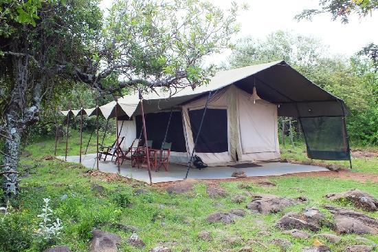 Mara Siria Camp: A luxury tent