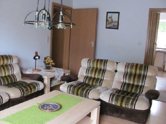 Pension Sussmeier: livingroom