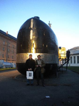 Horten, Norge: Norwegian submarine