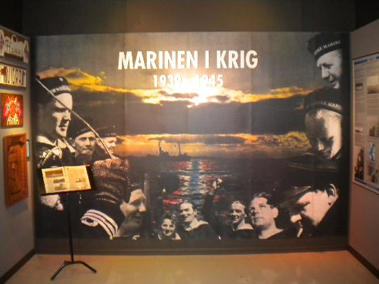 Marinemuseet (The Norwegian Naval Museum): From early times to the present