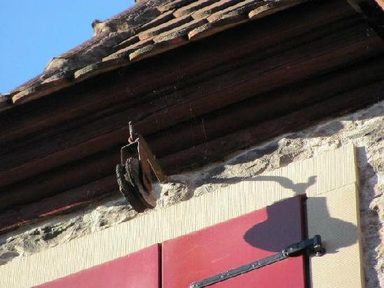Papiusgasse und Eselshof: pulley