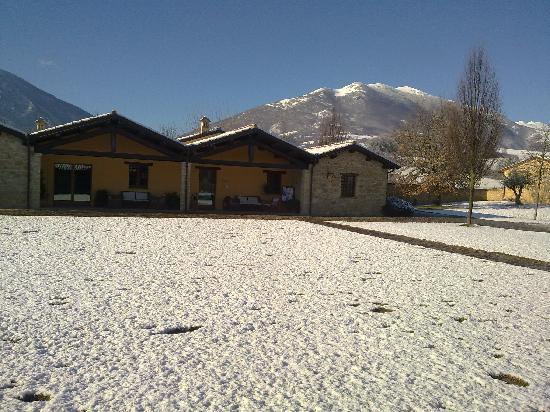Castelraimondo, Italy: Borgo Lanciano sotto la neve!!