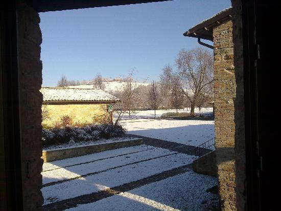 Castelraimondo, Italië: Borgo Lanciano sotto la neve!!