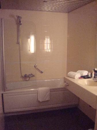 NH Veluwe Sparrenhorst: Spartan Bathroom
