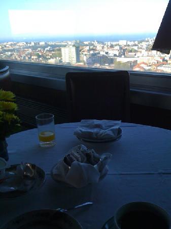 Albergaria Miradouro: Blick aus dem Restaurant