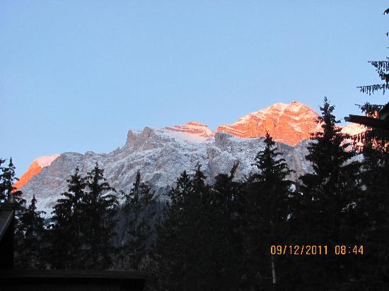 "Hotel Capannina: panorama delle Dolomiti ""Patrimonio dell Umanita'"""