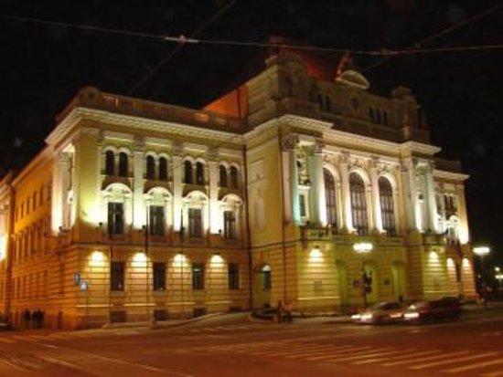 Oradea City Hall: night view