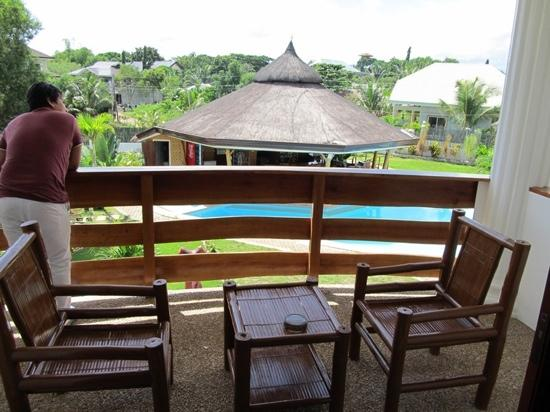 Harmony Hotel: gorgeous balcony