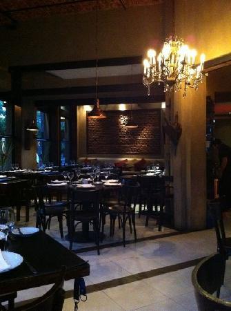 Punta Brasas: Inside the restaurant