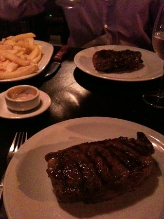 Punta Brasas: Our first Argentinean steak