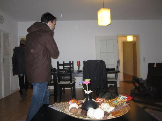 L72 Appartement: soggiorno