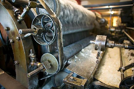Trefriw Woollen Mills: carding engines (April - Oct)