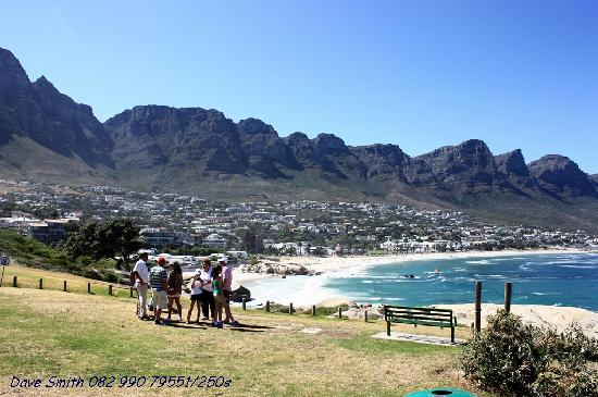 Cape Town, South Africa: Camps Bay from Maidens Cove