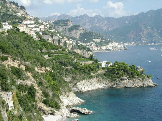 Tour of Italy: A view along the Amalfi Coast