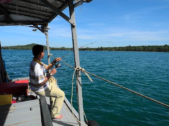 Adventure Charters Cambodia Day Trips: Plenty of fishing!