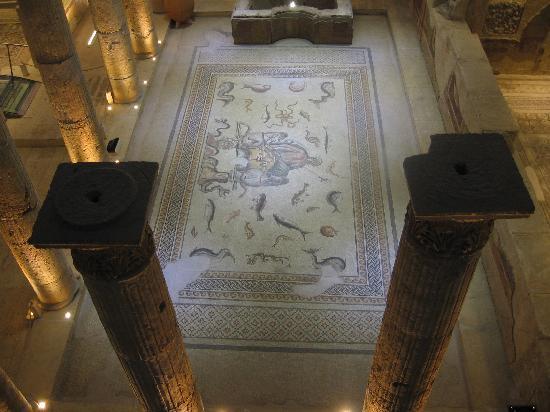 Gaziantep Zeugma Mozaik Müzesi: Mosaics at the Gaziantep Museum 2