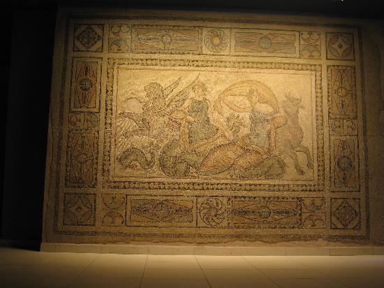 Gaziantep Zeugma Mozaik Müzesi: Mosaics at the Gaziantep Museum 3