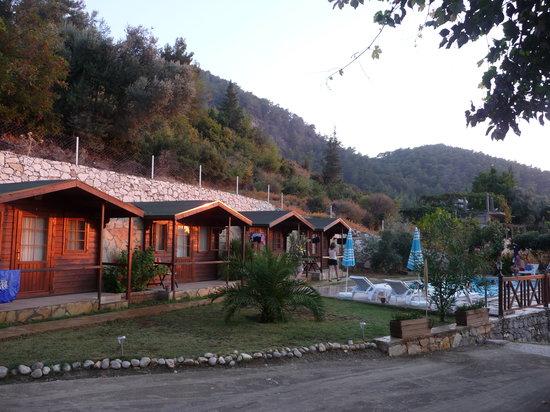 Onur Motel: Pool-side rooms