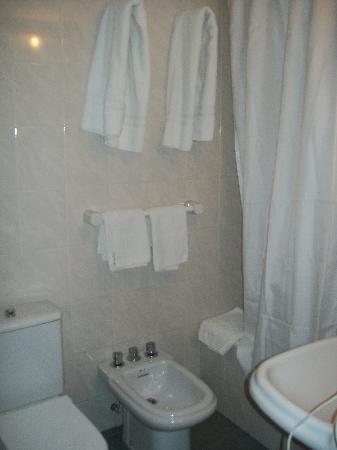 Hotel Huemul: baño comun