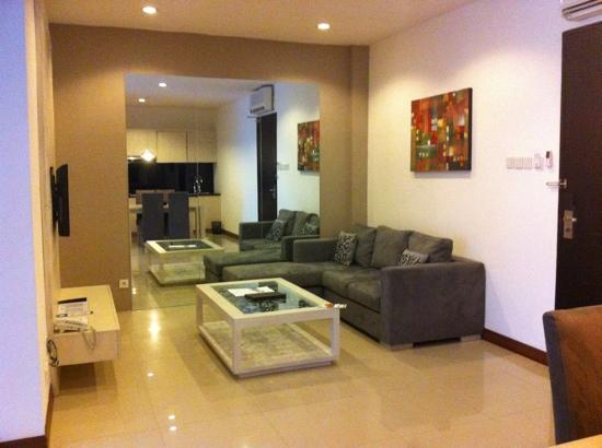 Umalas Hotel and Residence: the living room