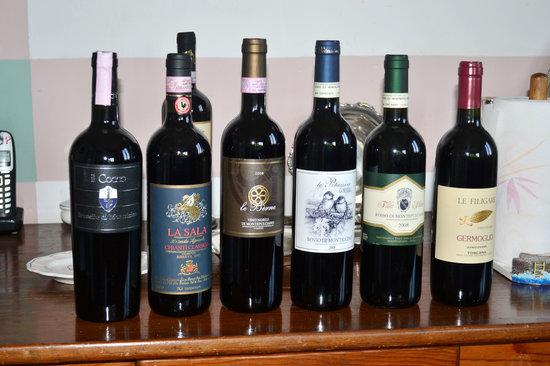 Florence Wine Academy: Tuscan wines