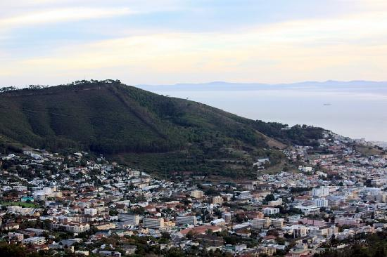 Cape Town, South Africa: The view from the top of Table Mountain