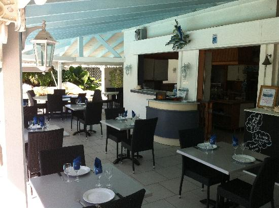 Hostellerie des Chateaux: vue restaurant hostellerie