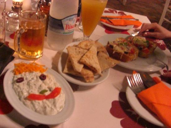 Nereids Restaurant & Bar: food at nereids