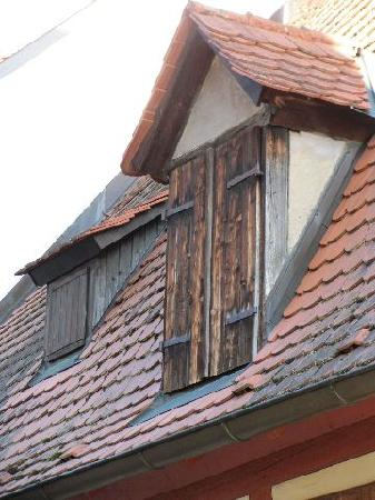 Winzerhäusle: roof