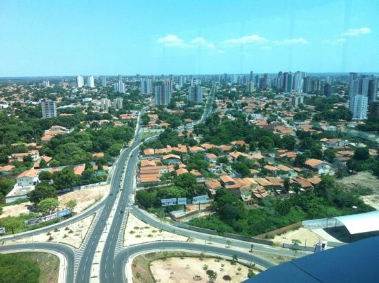 Teresina, PI: Vista da Ponte Estaiada-Mirante