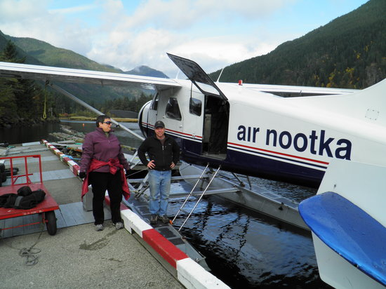 Gold River, Canada: Jane and Pilot Brad