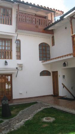 Quinua Villa Boutique: Pukara Wasi room on the top!