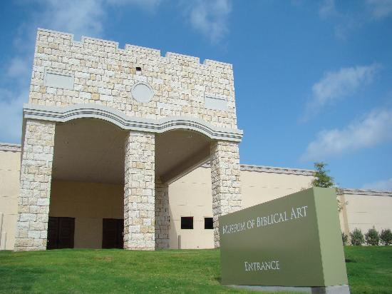 Museum of Biblical Art : MBA - Front Entryway