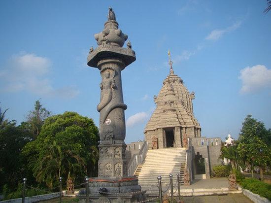 Jagannath Temple, Kanathur: temple