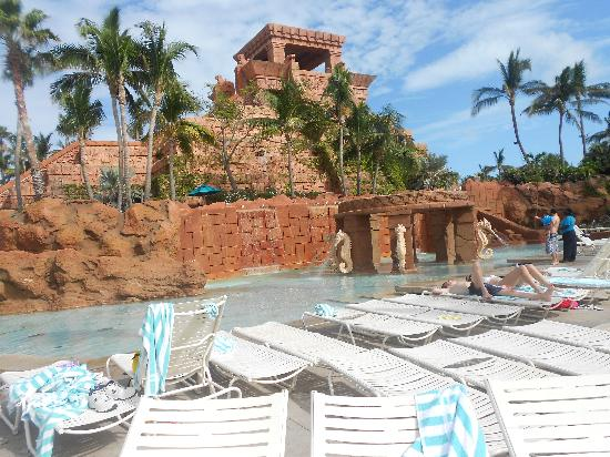 The lost city picture of aquaventure water park at for Atlantis pools