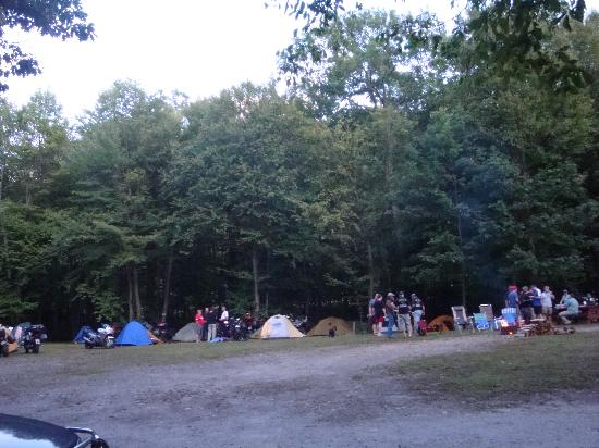 Timberland Campground: Great area for Groups